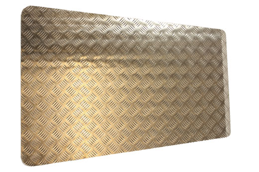 Chequer Bonnet Top - 3mm Aluminium - LL1209P3 - Aftermarket
