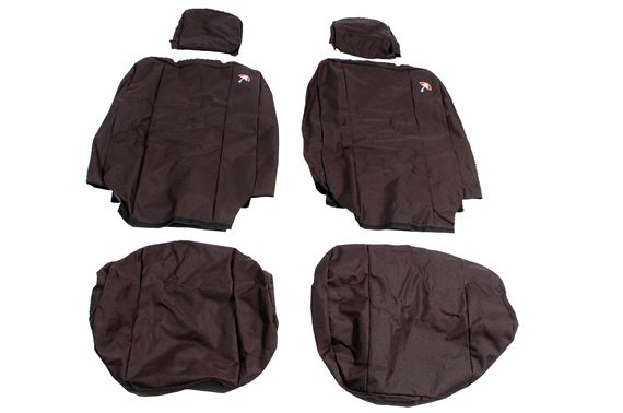 Waterproof Seat Covers Front (2 covers) Black - LL1224BP07 - Britpart