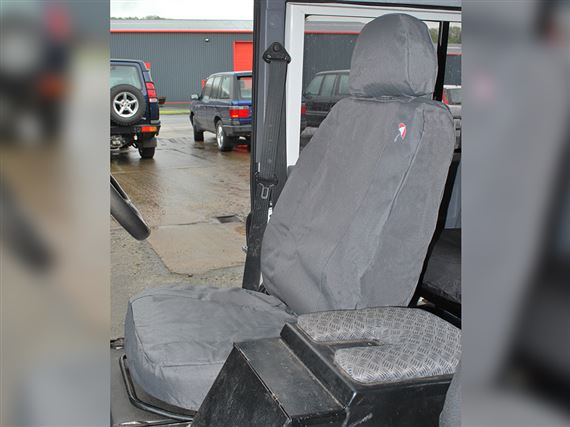 Waterproof Seat Covers Front (2 covers) Grey - LL1224BP07GREY - Britpart