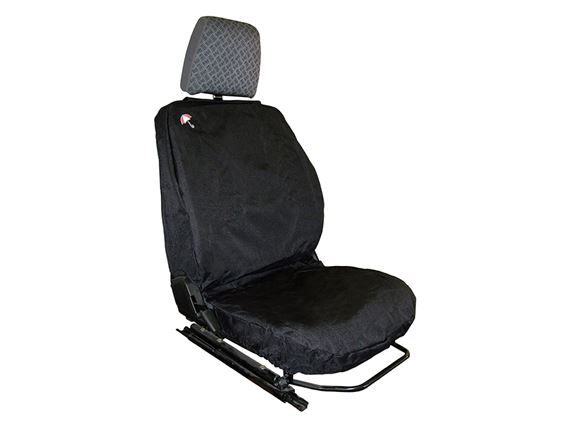 Waterproof Seat Covers Front (3 covers) Black - LL1224BPBLACK - Britpart