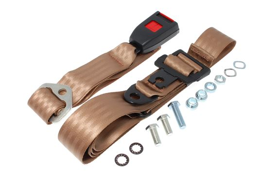 Securon 200 - Rear Seat Belt Kit - Static - Each - Beige - LL1317BEIGE