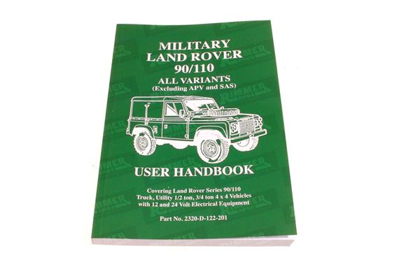 Land Rover Military 90 & 110 Owners Handbook