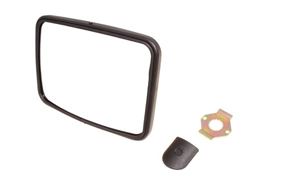 Convex Mirror with Fixing Kit - No Arm - Britpart DA4407