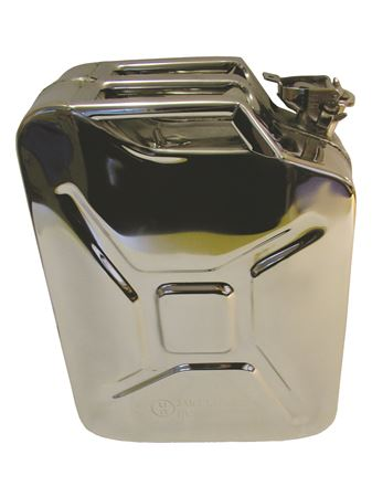Jerry Can Stainless Steel 20 Litres - LL1423SS