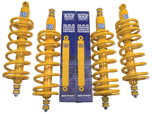 Shock Absorber and Spring Kit - LL1488BPSUPzz4 - Super Gaz