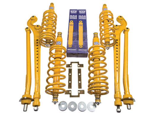Full Suspension Kit (Super Gaz) - LL1493BPSUPzz2 - Super Gaz