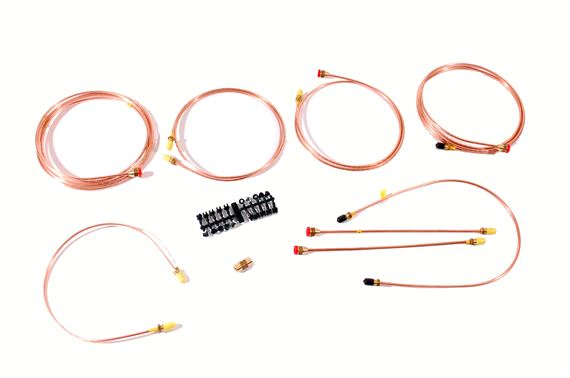 Copper Brake Pipe Kit - LL1777RHDLATE - Automec