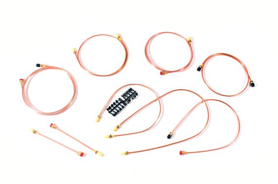Copper Brake Pipe Kit - LL1786 - Automec