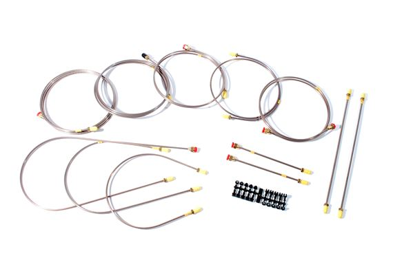 Copper Brake Pipe Kit - LL1806LHD - Automec