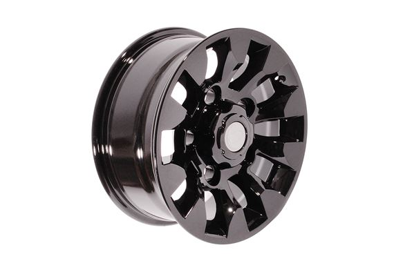 Alloy Wheel Sawtooth Black - 16 x 7 - LR025862P - Aftermarket