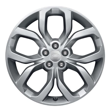 18 Inch Alloy Wheel - 5 Split Spoke - Style 511 with Dark Grey Finish - Genuine Land Rover