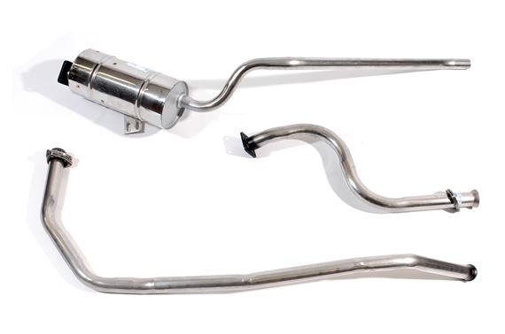 Series Stainless Steel Exhaust - Station Wagon Petrol