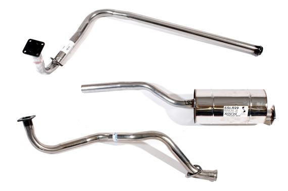 Series Stainless Steel Exhaust - 80 inch Petrol