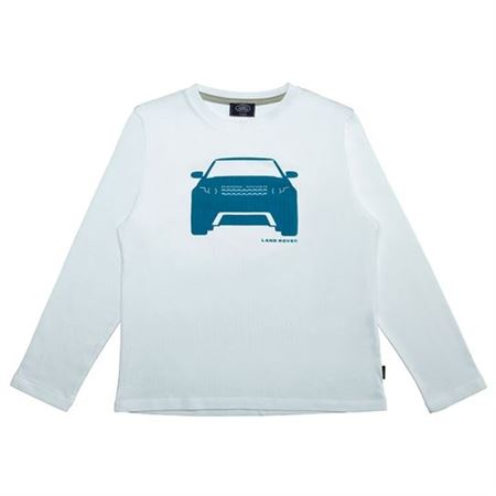 Boys Long Sleeve Glow In the Dark Evoque Shirt - Genuine Land Rover