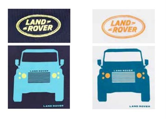 Boys Glow In the Dark Defender T Shirts - Genuine Land Rover