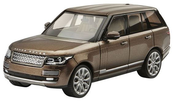 Range Rover 1:43 Scale Die Cast Model - Nara Bronze - Genuine Land Rover