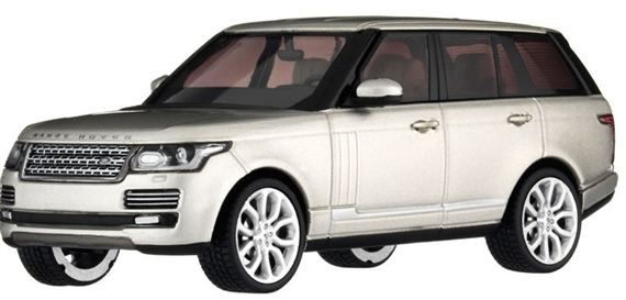 Range Rover 1:43 Scale Die Cast Model - Fuji White - Genuine Land Rover