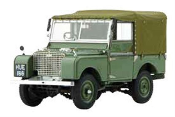 1948 Land Rover Series 1 HUE 1:43 Scale Die Cast Model - Genuine Land Rover