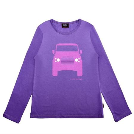 Girls Long Sleeve Defender Shirt - Genuine Land Rover