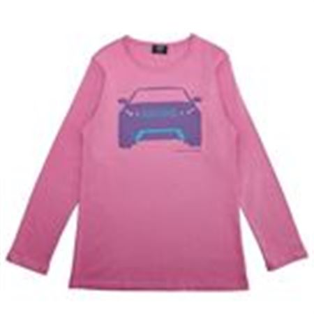 Girls Long Sleeve Evoque Shirt - Pink - Genuine Land Rover