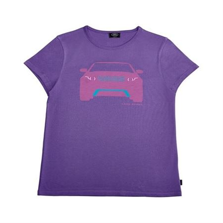 Girls Evoque T Shirt - Purple - Genuine Land Rover