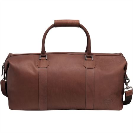 Hertiage Leather Holdall - Brown - Genuine Land Rover