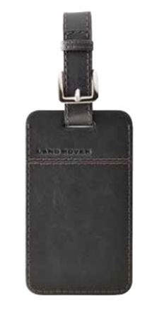 Leather Luggage Tag - Genuine Land Rover