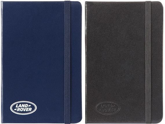 Small Notebooks - Genuine Land Rover