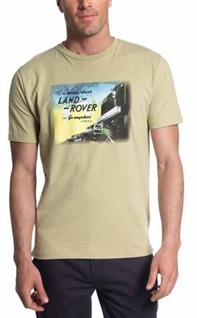Vintage T-Shirt - Land Rover - Genuine Land Rover