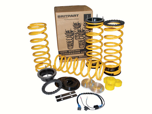 p38 coil spring conversion instructions