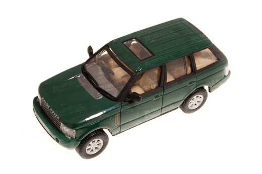Schuco Junior Range Rover L322 1:43 Scale Die Cast Model - Green