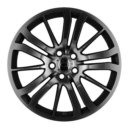 Range Rover 3 Alloy Wheel HST 20 x 9.5 Gunmetal Polished - Aftermarket