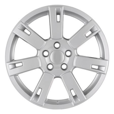 Alloy Wheel Slot Machine 19 x 8.5 Silver - Aftermarket