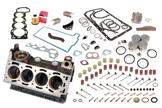 Full Engine Rebuild Kit With New Block Rb7214bk Rimmer Bros