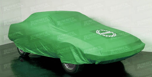 Triumph TR7/TR8 Indoor Tailored Car Cover - Coupe - Green