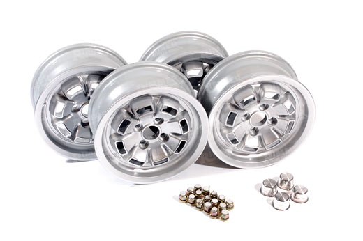 Alloy Wheel Set of 4 - Factory Spec 5x13 (includes nuts & centres) - RB70514