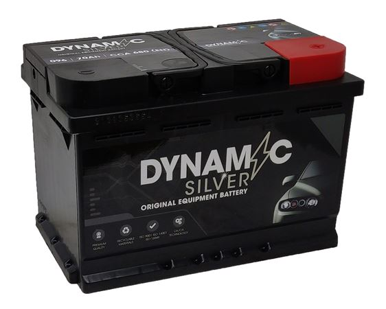 096 Battery 3 Year Warranty Dynamic Silver - RBAT096B