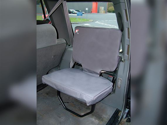 Waterproof Seat Covers Boot Inward Facing (2 piece) Grey - RD1225BPGREY - Britpart