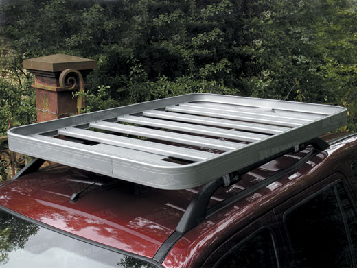 Full Roof Rack - Silver - Britpart DA3077 - LF1027BP - Front Runner