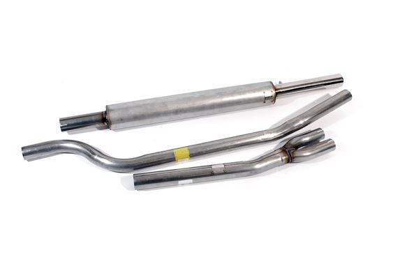 Triumph TR4A Stainless Steel Sports Exhaust System - System F