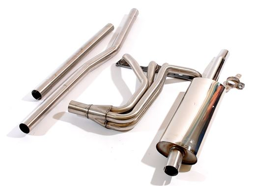 Triumph TR3-4 Stainless Steel Sports Exhaust System - System A