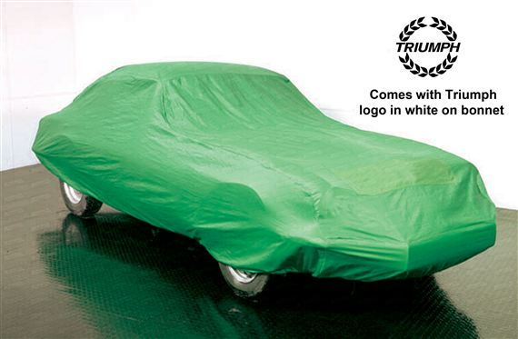 Triumph GT6 Indoor Tailored Car Cover - Green