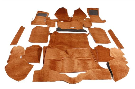 Triumph GT6 Carpet Sets - Non-Rotoflex Models