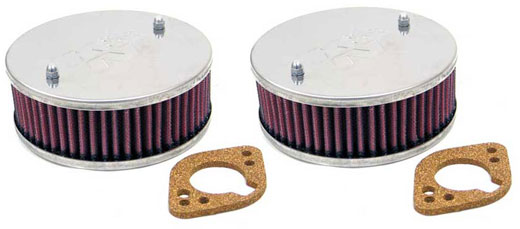 K&N Custom Air Filter Kit - SU HS6 Carbs Pair - RP1635