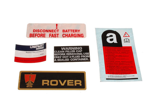 Rover SD1 Stickers
