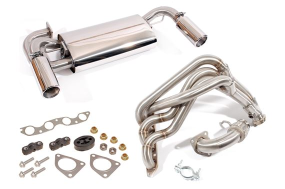 MGF and MG TF Exhaust - Sports System Kits and Components