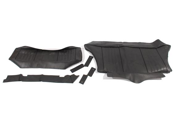 MGB Rear Seat Cover Kits - GT Models GHD4 1969 Only with Reclining Front Seats