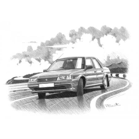 MG Montego Efi Personalised Portrait in Colour - RP1627COL