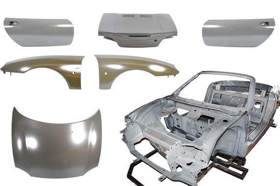 Body Shell Kit - Including Closures - MG TF - RP1751