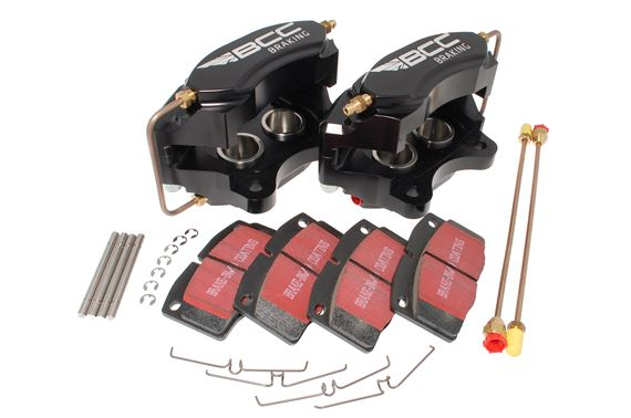 BCC Performance Brake Caliper Conversion Kit - 4 Pot Alloy - RR1563